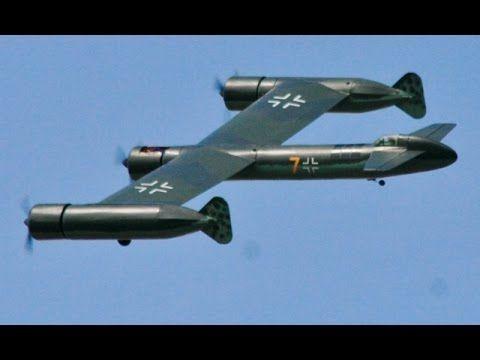 LARGE SCALE RC BLOHM & VOSS BV P.170 (EP) - KEN AT WILLIS WARBIRDS MEET ...