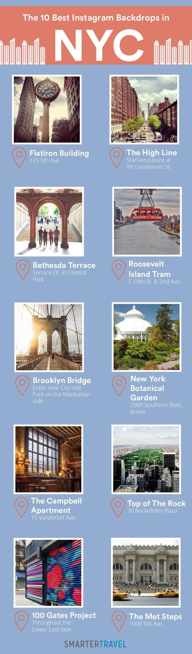 The best Instagram spots in NYC!