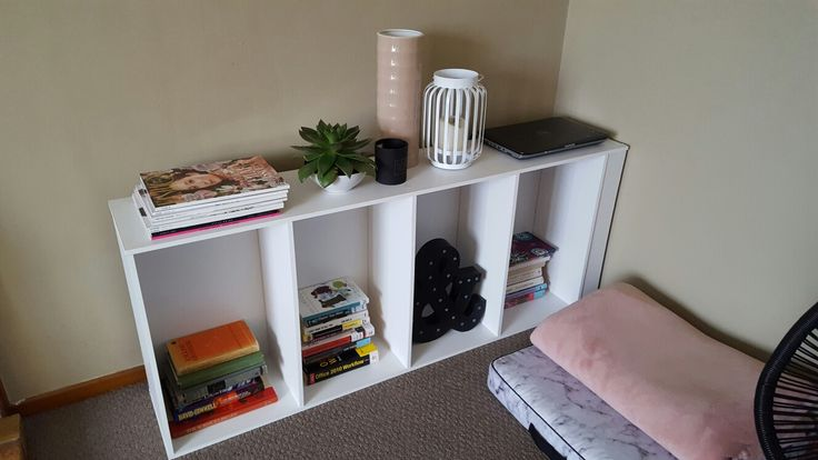 Bookcase sideways, quite like it