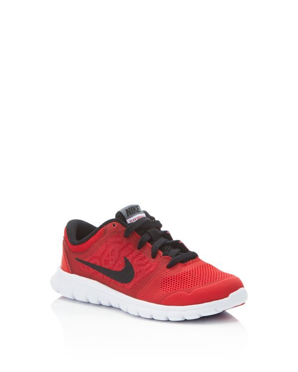 ac273eb043ee Airy mesh provides soft and breathable comfort for hours of running around  in Nike s Flex sneakers.