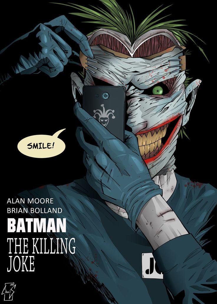 52 Joker   The Killing Joke new 52 by Spidertof