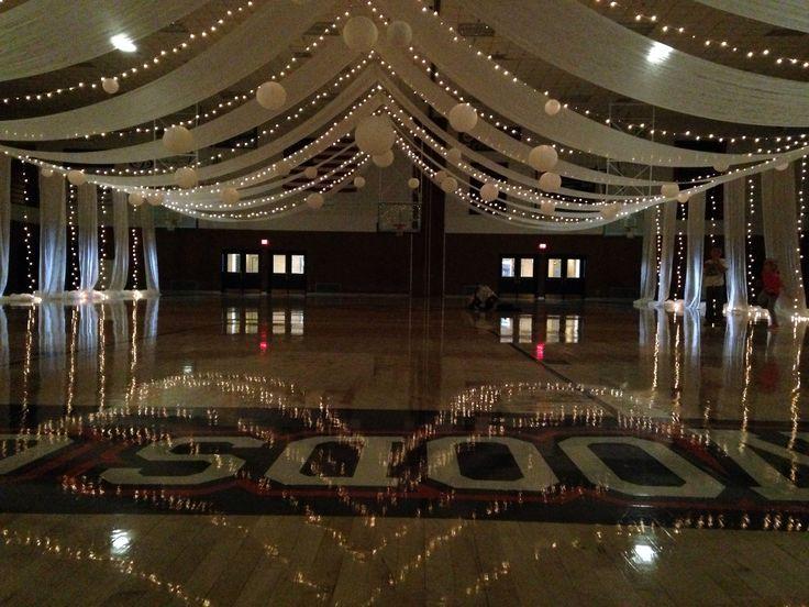 High school dance decorations