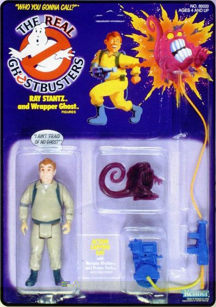 This is for Phinny :)  THE REAL GHOSTBUSTERS RAY SERIES 1 ACTION FIGURE