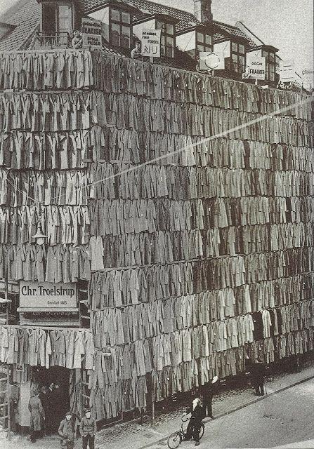 Bartlett Architecture Diary: Coats Coat Coat Store As Novel Sales Scheme