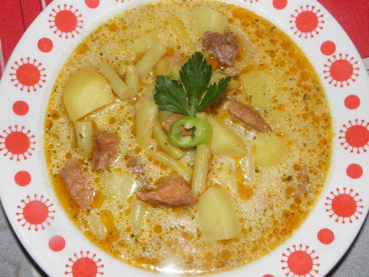 Karcsi főzdéje: Palócleves sertéshúsból