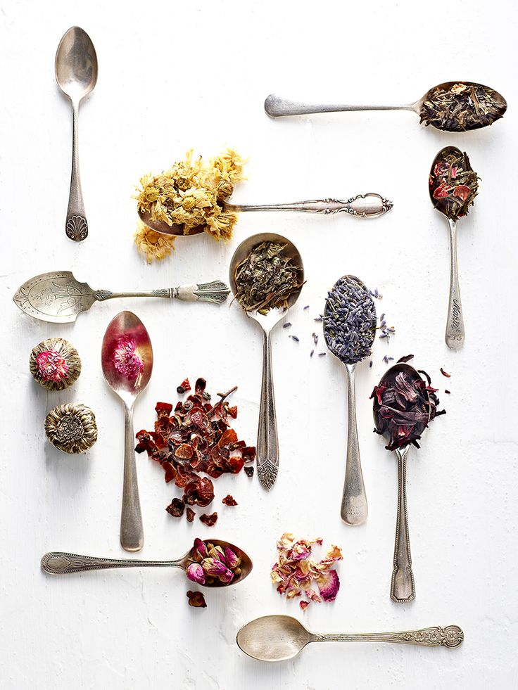 theartofplating:  Herb and flower teas. © Brent Parker Jones