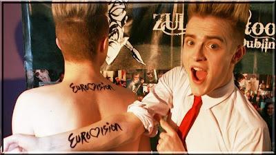 Eurovision tattoo & Jedward <3