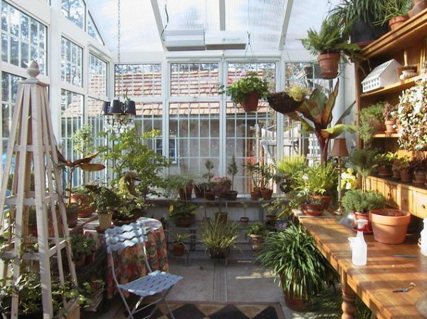 Stylish Greenhouse Design Inspiration Ideas