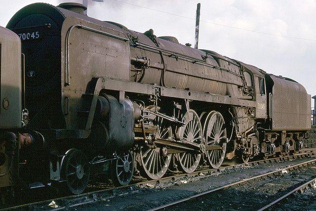 Britannia class 7 4-6-2, 70045 Lord Rowallan