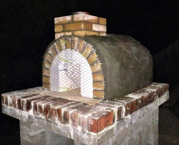 BrickWood Ovens - Lyford Family Wood Fire Brick Pizza Oven