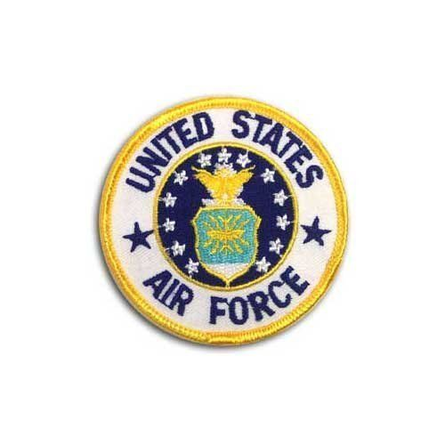 "Air Force Patch by US Flag Store. $1.99. United States Air Force Patch. Approx 3"". Low Cost Shipping Available!. Dimensions: Approx. 3"""