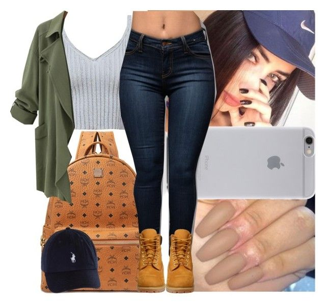 """Back2school #13"" by msixo ❤ liked on Polyvore featuring MCM, Native Union and Timberland"