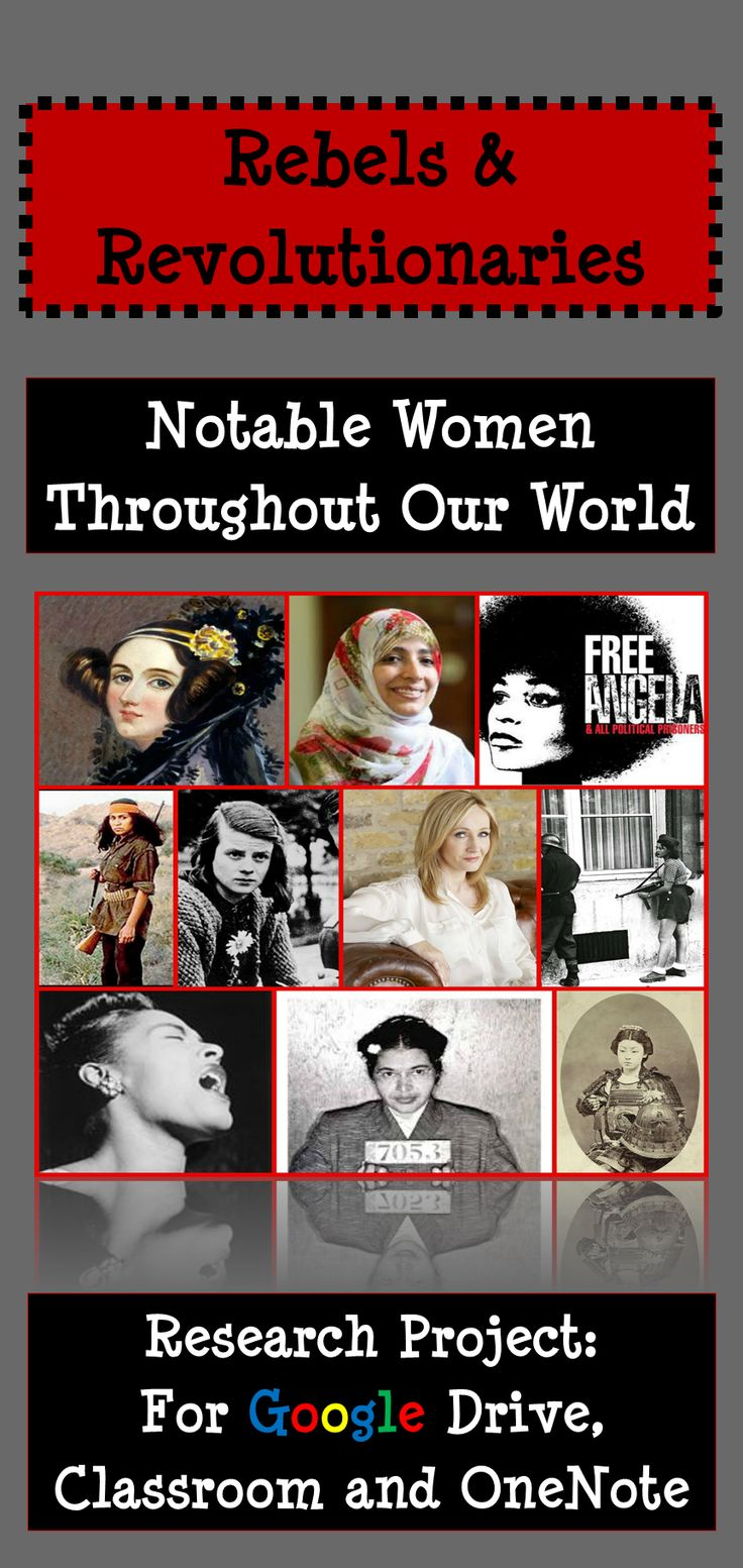 Research project featuring 33 remarkable women around our world who made an impact and changed the course of history! Google Classroom, Google Drive, Women's History Month