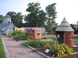 Lewis Ginter Botanical Garden Three Houses