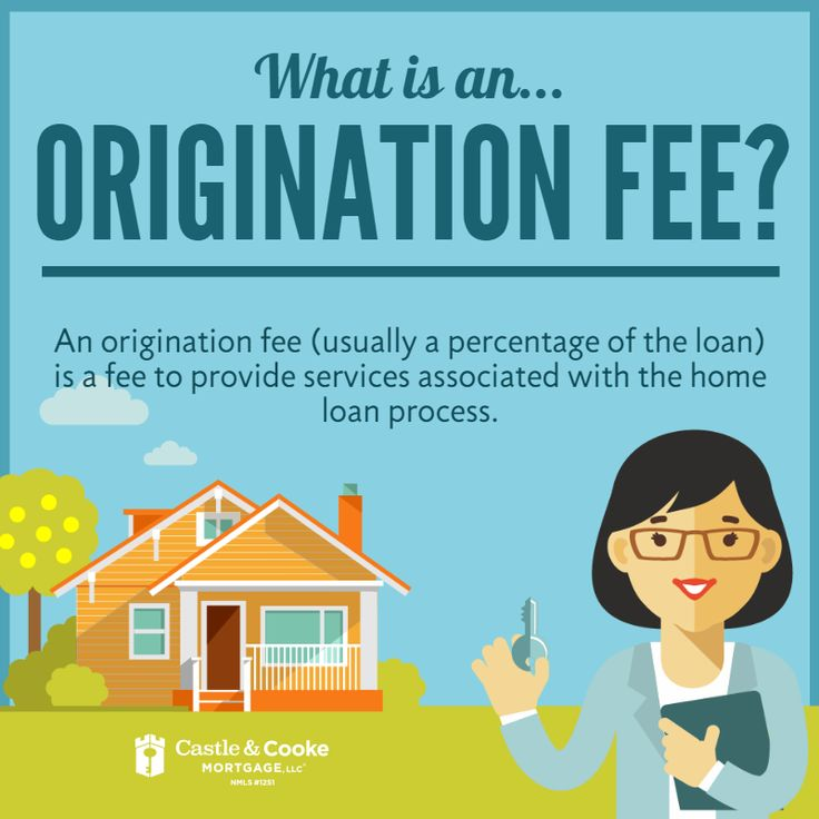 What is an Origination Fee? An origination fee (usually a percentage of the loan) is a fee to provide services associated with the home loan process.