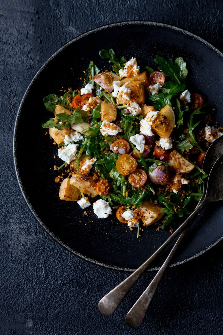 THE FOOD GAYS - Roasted Turnip, Arugula and Goat Cheese Salad