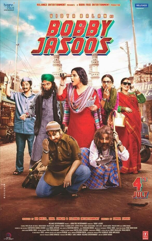 Welcome to Movies World: Bobby Jasoos (2014) Hindi Movie 325MB DVDScr