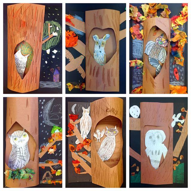 BES Art: Owls