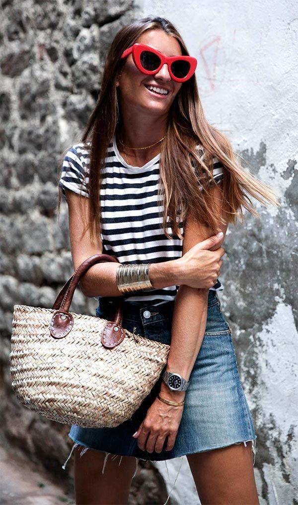 Como usar saia jeans neste verão » STEAL THE LOOK