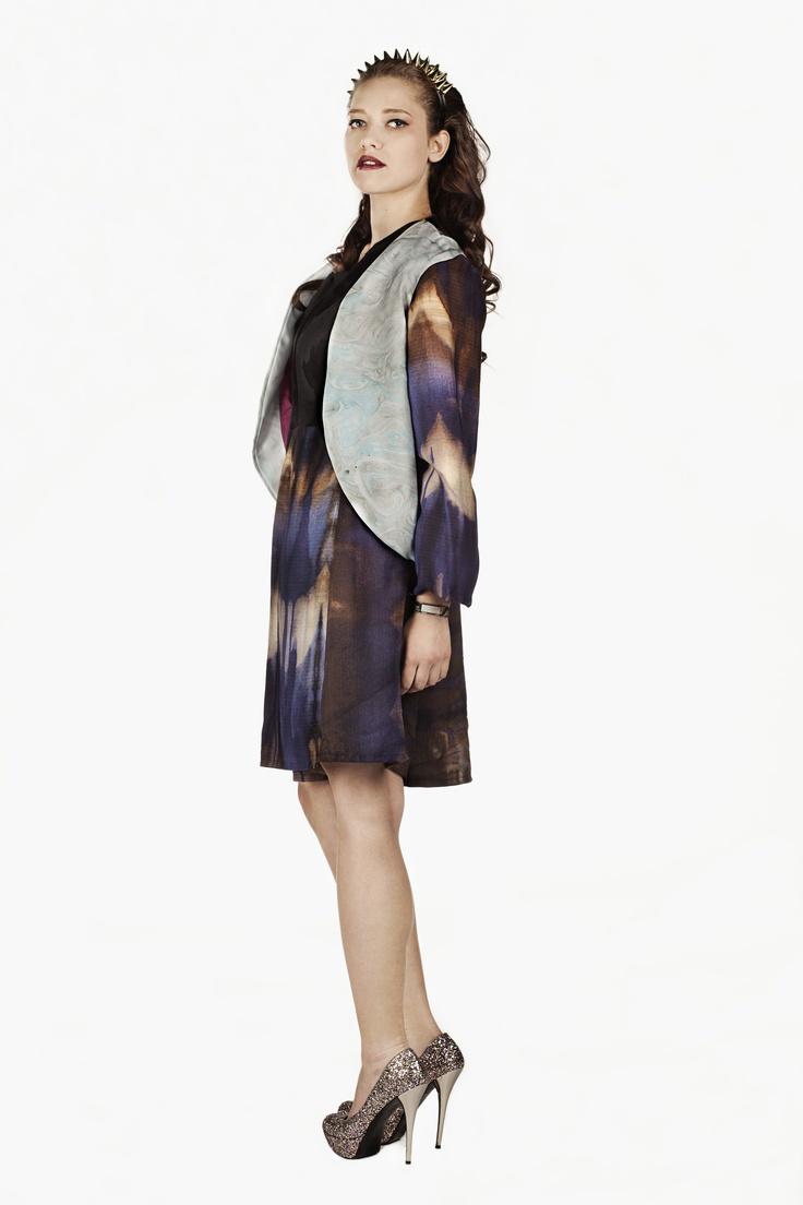 Fashion and Textile Design: Kimberley Griffin [photographer Justyna Kloch retoucher Liliya Ivanova]