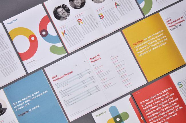 Applied Arts Mag - Awards Winners - S.A.W. Inc., 2012 Annual Report Voice: 412-716-2757 Website: www.wearework.com Email: brian@wearework.com Work Creative Direction: Brian Buirge, Jason Bacher Copywriting: Bob Melvin, Greg Zaryk