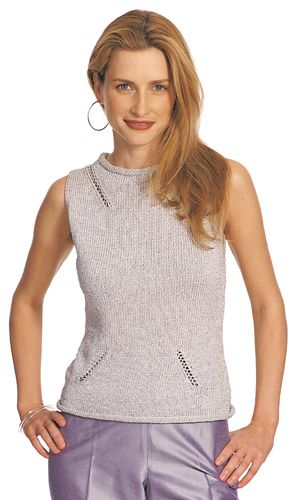 Francesca Sleeveless Knit Top Pattern