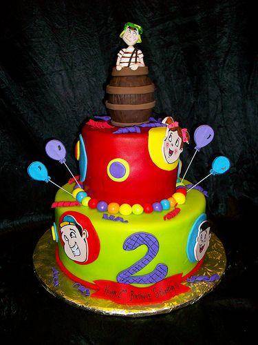 El Chavo del 8 Birthday cake