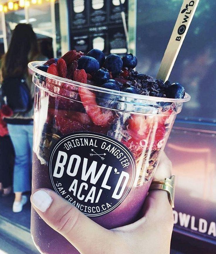 Bowl'd Acai || San Francisco || Food Truck || Berries || Granola || Brass || JoJo Rings