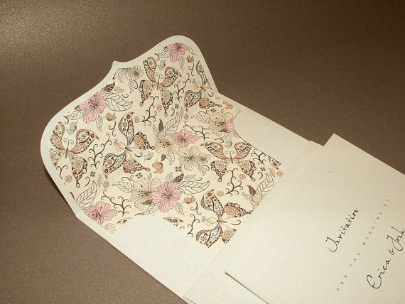 Handmade wedding invitation cards with padded by BudapestWP, $2.45