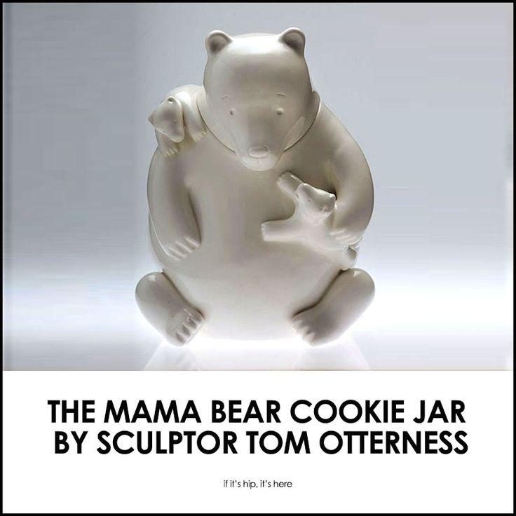Tom Otterness Mama Bear cookie jar