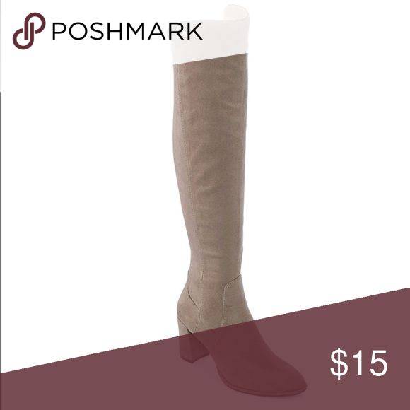 Boots Over the knee boots Taupe Liz Claiborne Shoes Over the Knee Boots