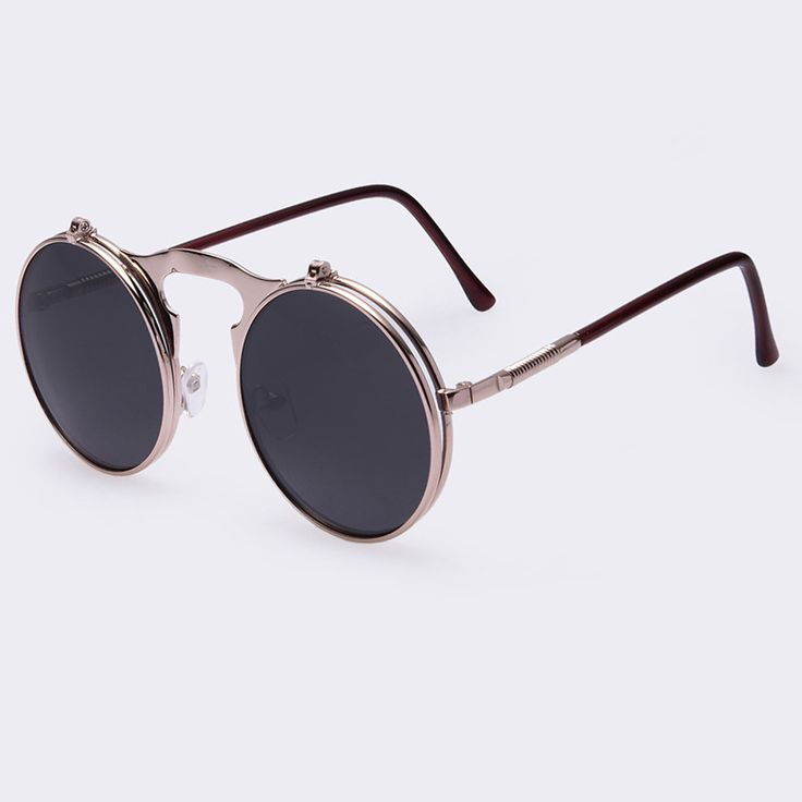 Take vintage style with a touch of steampunk and you get these designer sunglasses. With UV400 protection, not only are they head turners, they help to protect your eyes. Available in 5 colors and rea