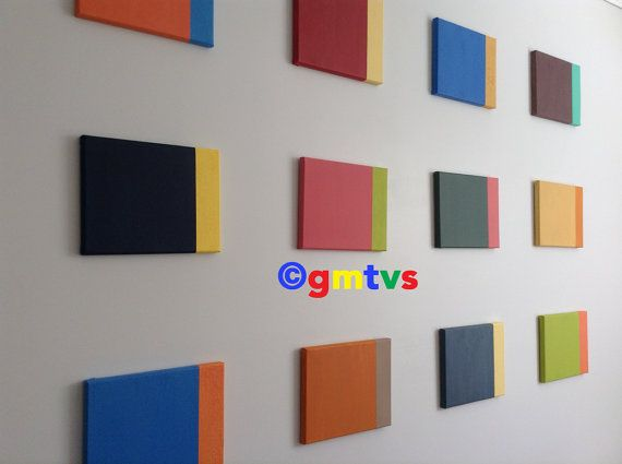 Colourfull Wall -Acrylic Painting For Sale
