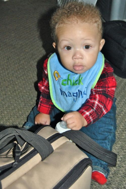 Adorable :) I'll have a little mixed baby one day ;)
