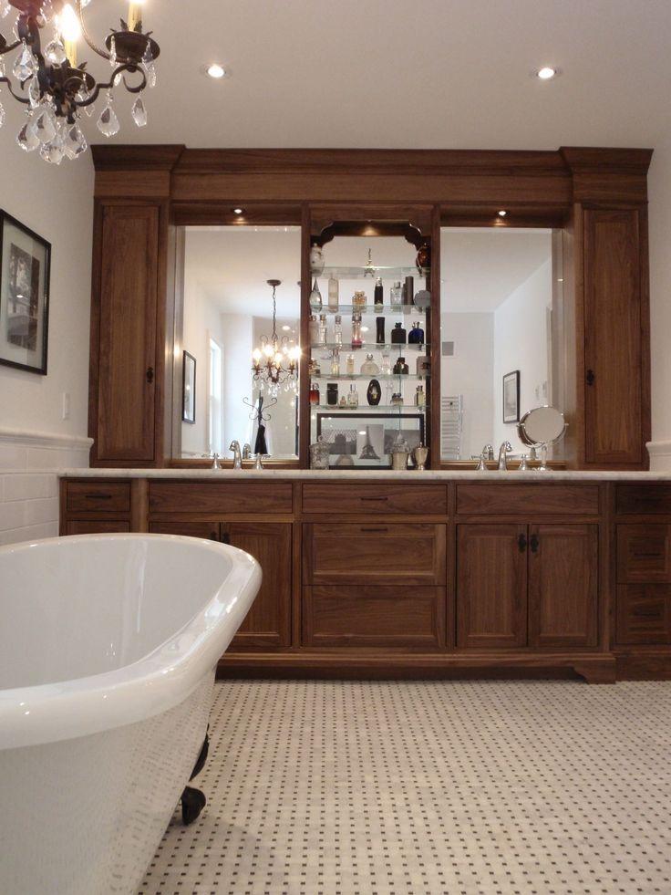 Custom Bathroom Built By Ferguson Fine Homes Soaker Claw Foot Tub And His An