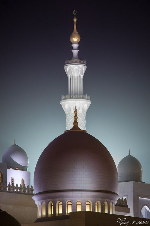 Sheikh Zayed Mosque - Abu Dhabi, United Arab Emirates