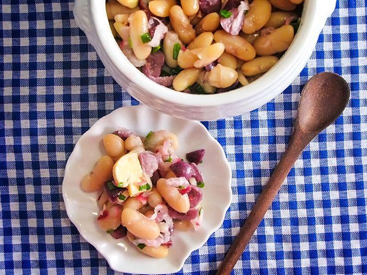 Salada de feijão branco: Salada De Couve-Flor, De Salada
