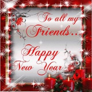 To All My Friends .... Happy New Year!! I would like to say May God Bless You All With Great Health, Healing Of All Sickness ,diseases, addiction,and Cancer..... May He Bless You All Financially....Healing Of Grief, Restoring Of Families,Marriages, and Friendships....