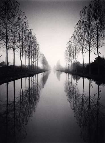 Michael Kenna, French Canal. Fantastic use of lighting and reflection creating an almost other worldly presence to within the image.