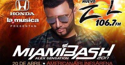 http://ift.tt/2l5hkXR http://ift.tt/2l5hpuD  MIAMI Febrero de 2017 /PRNewswire-/ - La aplicación LaMusica de Spanish Broadcasting System Inc. (SBS) junto a la estación líder en sintonía radial en el sur de la Florida: EL ZOL 106.7FM en colaboración con Felix Cabrera Presenta; se alistan para el concierto más importante del 2017 Alex Sensation MIAMIBASH 2017 que se llevará a cabo el Jueves 20 de Abril de 2017 en el AmericanAirlines Arena de Miami Florida. Los boletos en su venta oficial…
