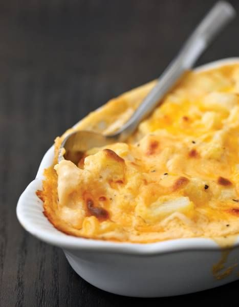 cauliflower mac and cheese low carb