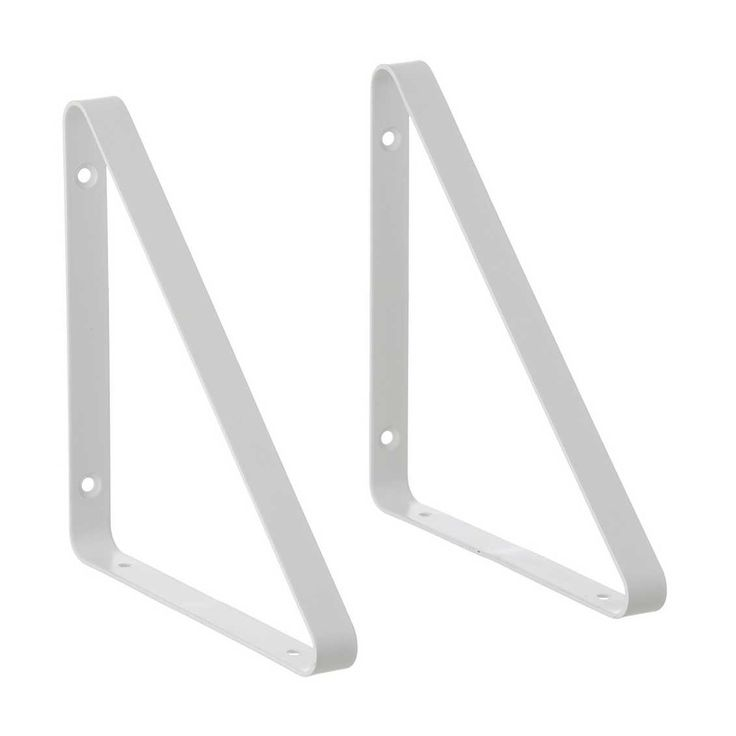 Metal Shelf Hangers Wit