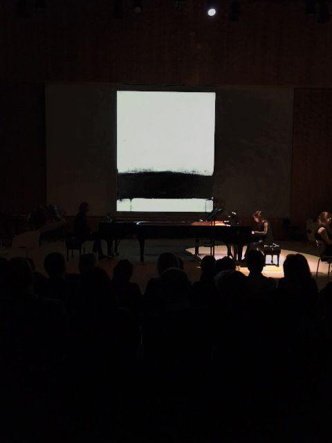 Impressionen vom Abend mit Matthias Pintscher in der Elbphilharmonie Mit Werken zeitgenössischer Kunstu. a. von Hideaki Yamanobe «  Japan Art | Galerie Friedrich Müller | Blog