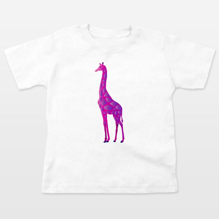 Fun Indie Art from BoomBoomPrints.com! https://www.boomboomprints.com/Product/steelgraphics/Paper_Craft_Giraffe/Toddler_T-Shirts/2T_White/