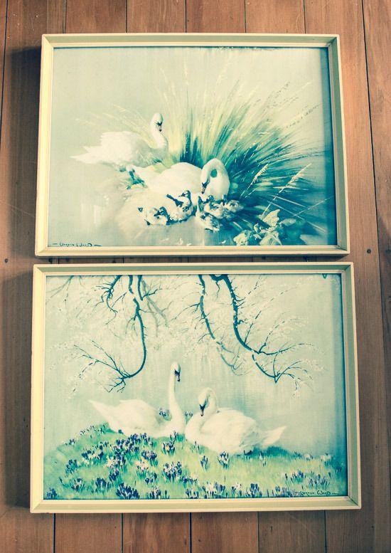 My vintage find: Vernon Ward prints {Make Do Home}