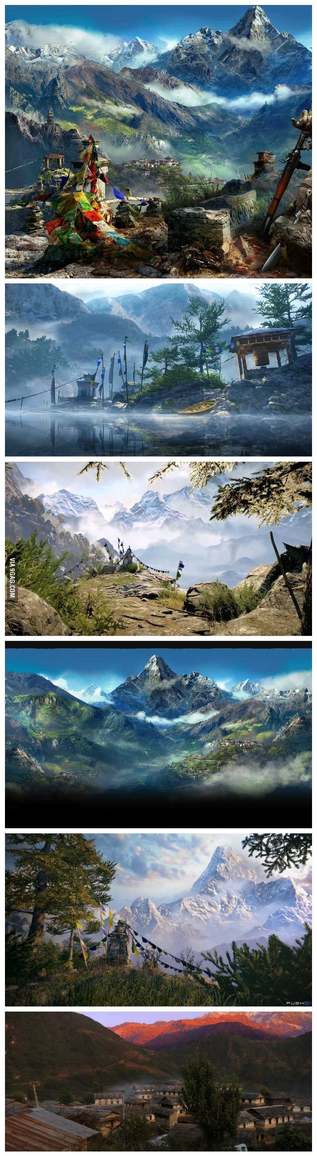 Stunning graphics of NEPAL in Far Cry 4