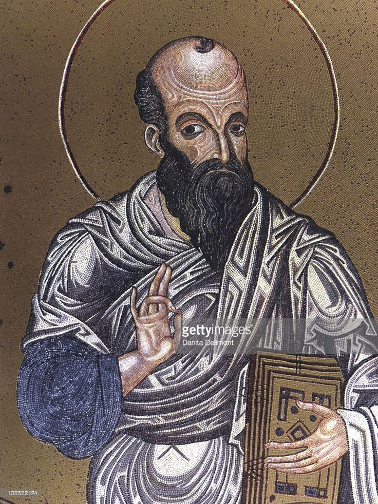 St Paul, Mosaic, 12 - 13th century, Monreale Cathedral, Sicily // Paul of Tarsus, also called Paul the Apostle, the Apostle Paul, or Saint Paul was a Hellenistic Jew who called himself the 'Apostle to the Gentiles' and was, together with Saint Peter and James the Just, the most notable of early Christian missionaries. According to the Acts of the Apostles, his conversion took place on the road to Damascus.