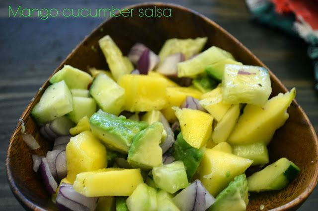 Mango Cucumber SalsaCucumber Salsa, Food Porn, Gluten Free Paleo, Free Recipe, Healthy Eating, Foodies Recipe, Delicious Gluten, Cleaning Eating, Healthy Foodies
