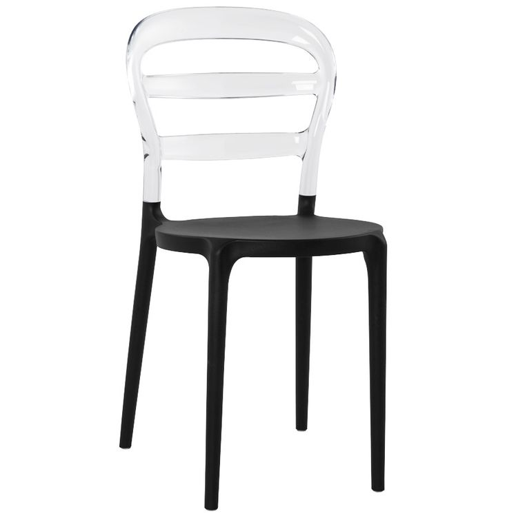 chaise design transparente polycarbonate. Black Bedroom Furniture Sets. Home Design Ideas