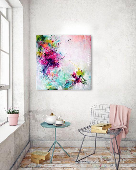 Original Kunst abstrakte große Gemälde abstrakte von ARTbyKirsten